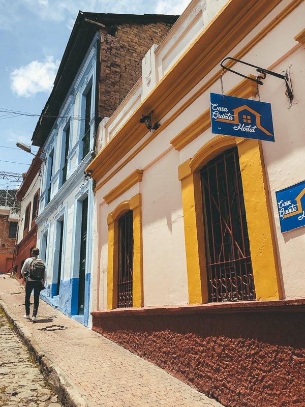 Chapinero is naar mijn mening de leukste wijk om te verblijven in Bogota.