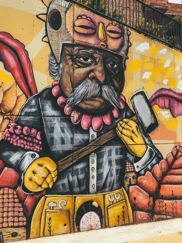 Graffiti in Medellin