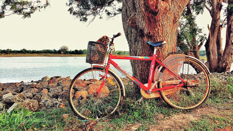 Ga fietsen langs alle tempels van Anuradhapura en Mihintale in Sri Lanka