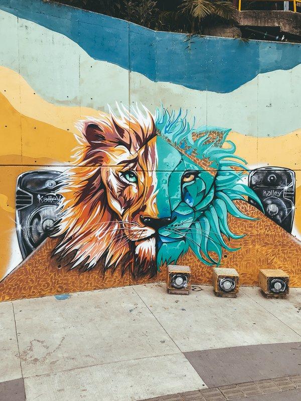Prachtige kunstwerken in Colombia