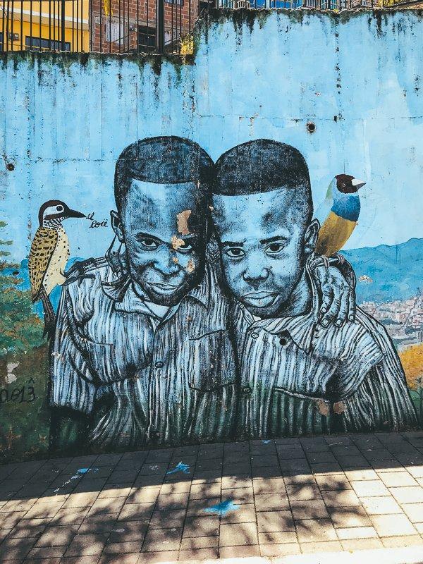 Graffiti in Comuna 13