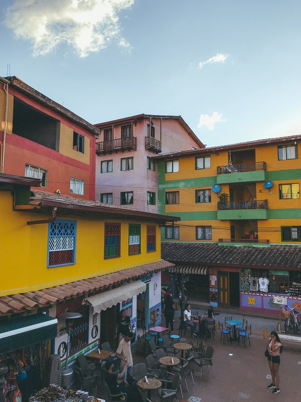 Guatape in Colombia.