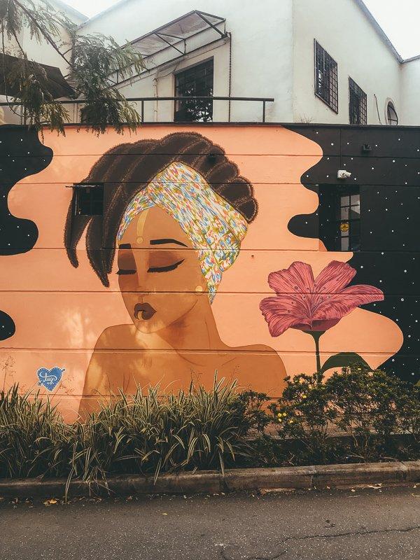 Graffiti in El Poblado.