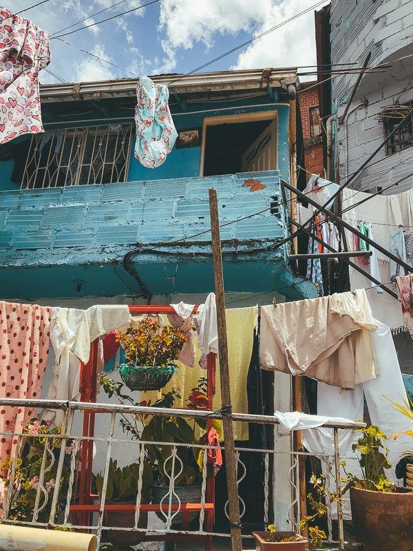 Huizen in Comuna 13