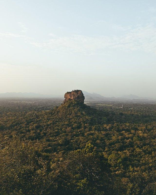 Uitzicht op de Lion Rock