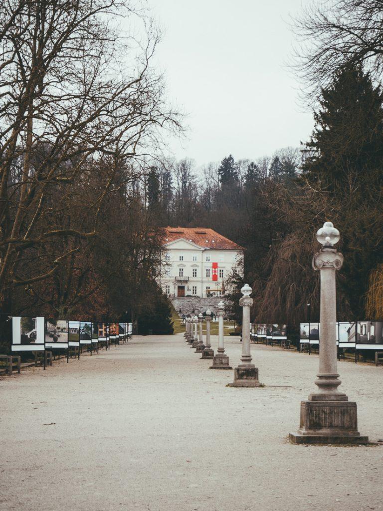 Het kunstmuseum in Park Tivoli