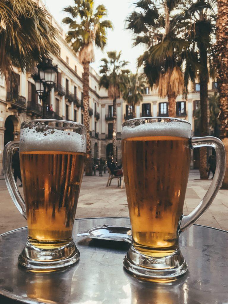 Bier op Placa Reial