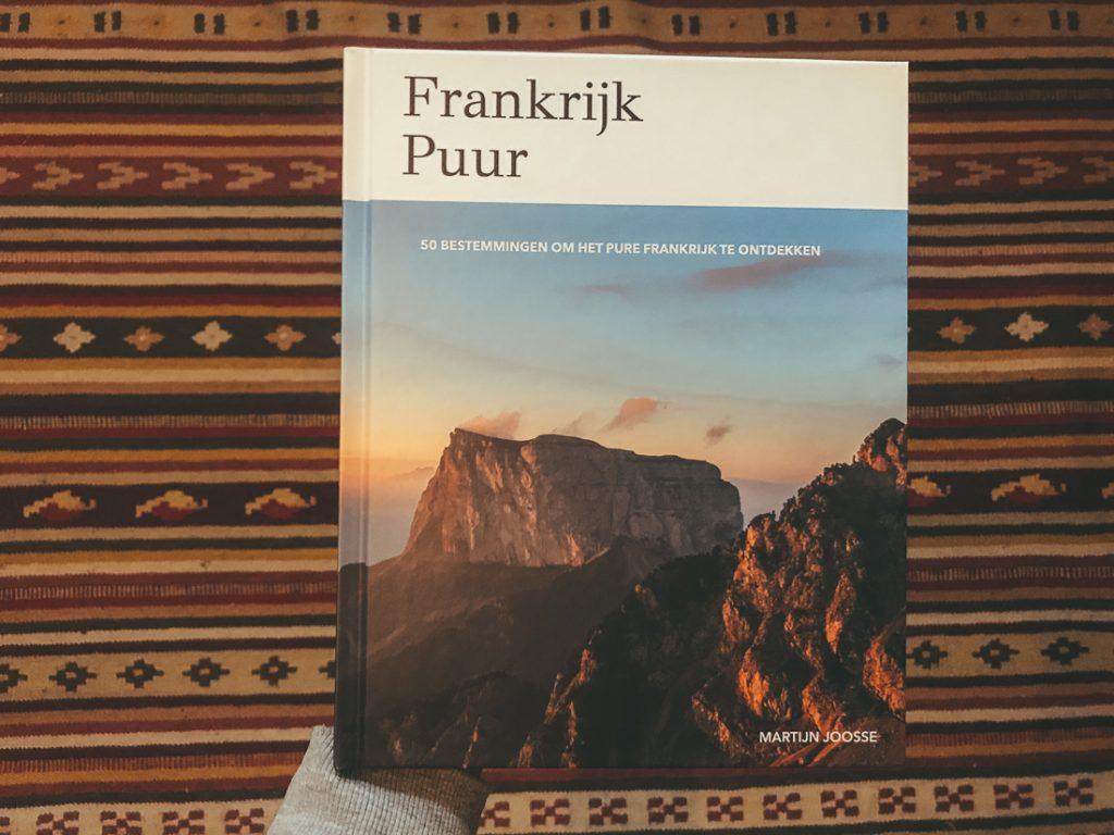 Een reisboek over Frankrijk