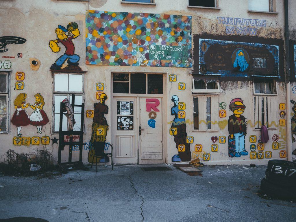 ROG is een van de bezienswaardigheden van Ljubljana