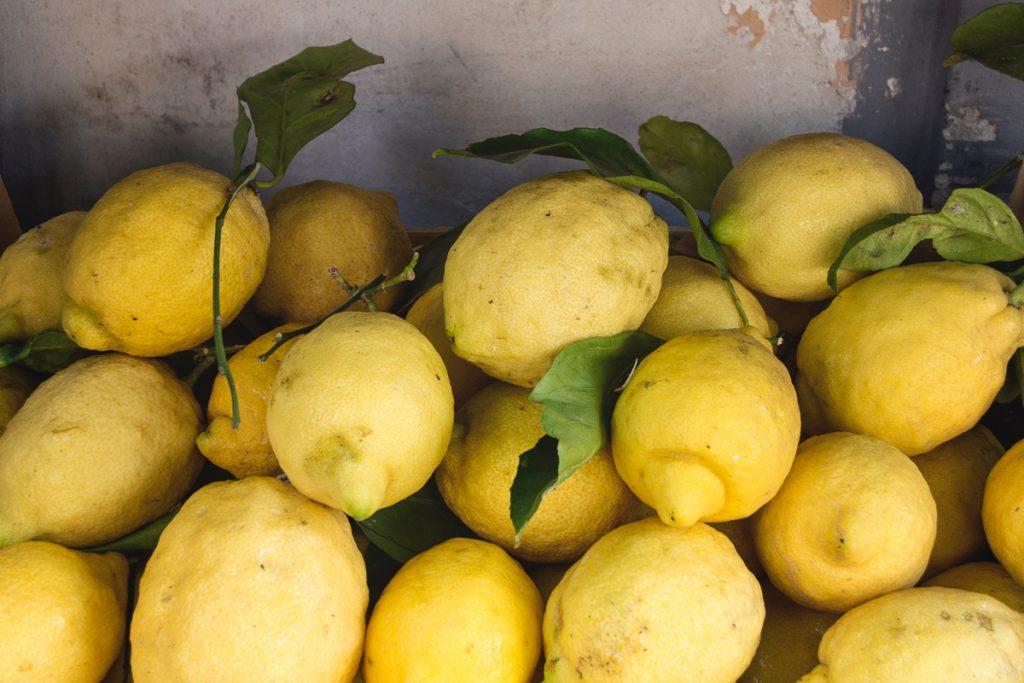 Sorrento aan de Amalfikust staat bekend om haar citroenen