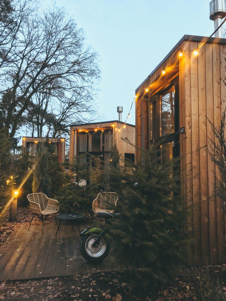 De tiny houses op Droompark Maasduinen