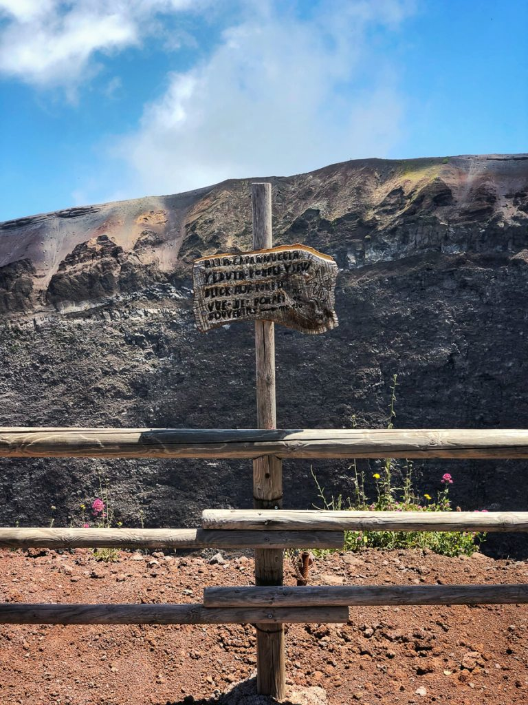 Vulkaan Vesuvius