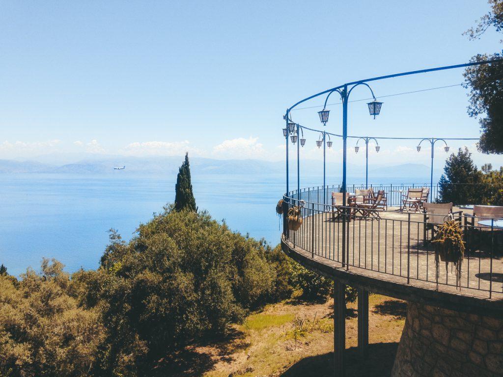 Het uitzicht vanaf het Bella Vista restaurant