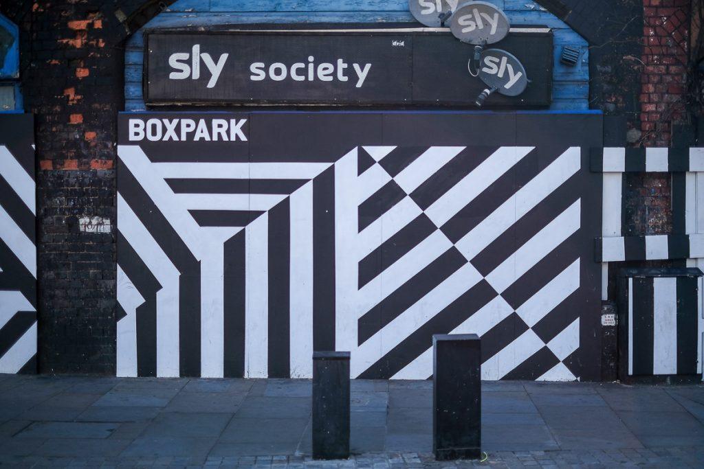 Boxpark in Shoreditch Londen