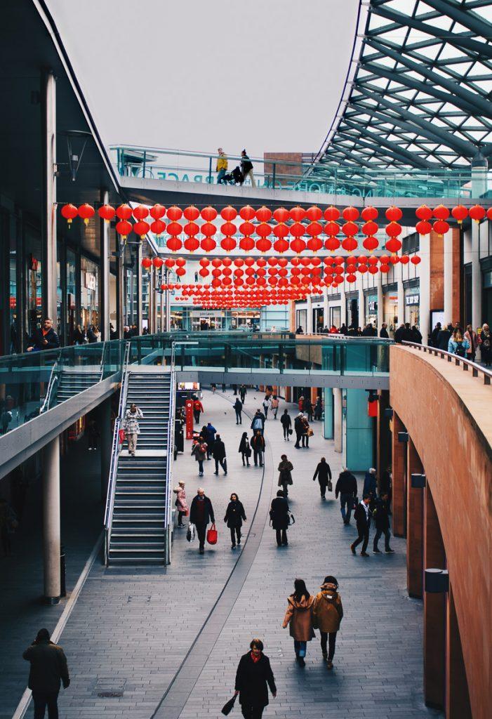 Winkelen tijdens een stedentrip Liverpool