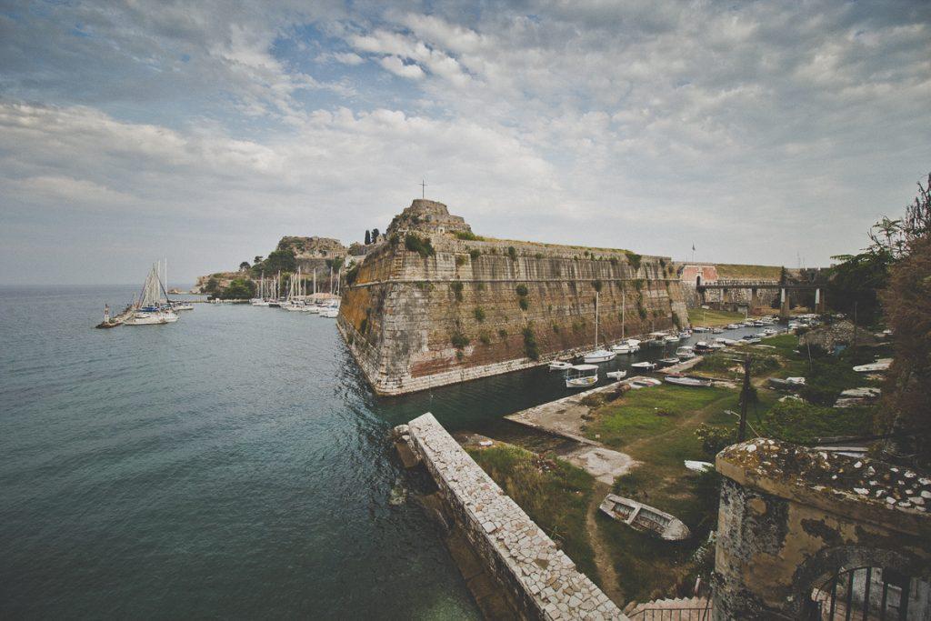 Het fort van Corfu