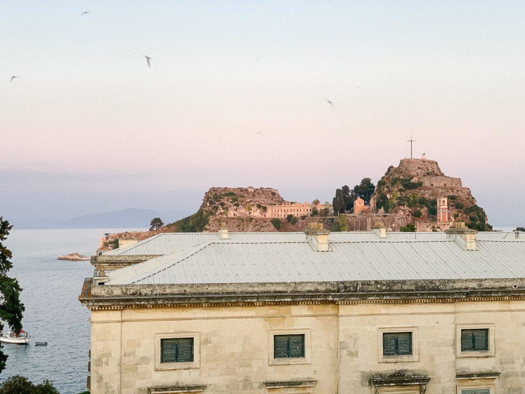 Het prachtige Corfu in Griekenland