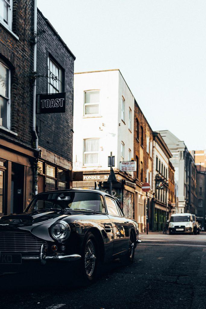 De straten van Oost-Londen