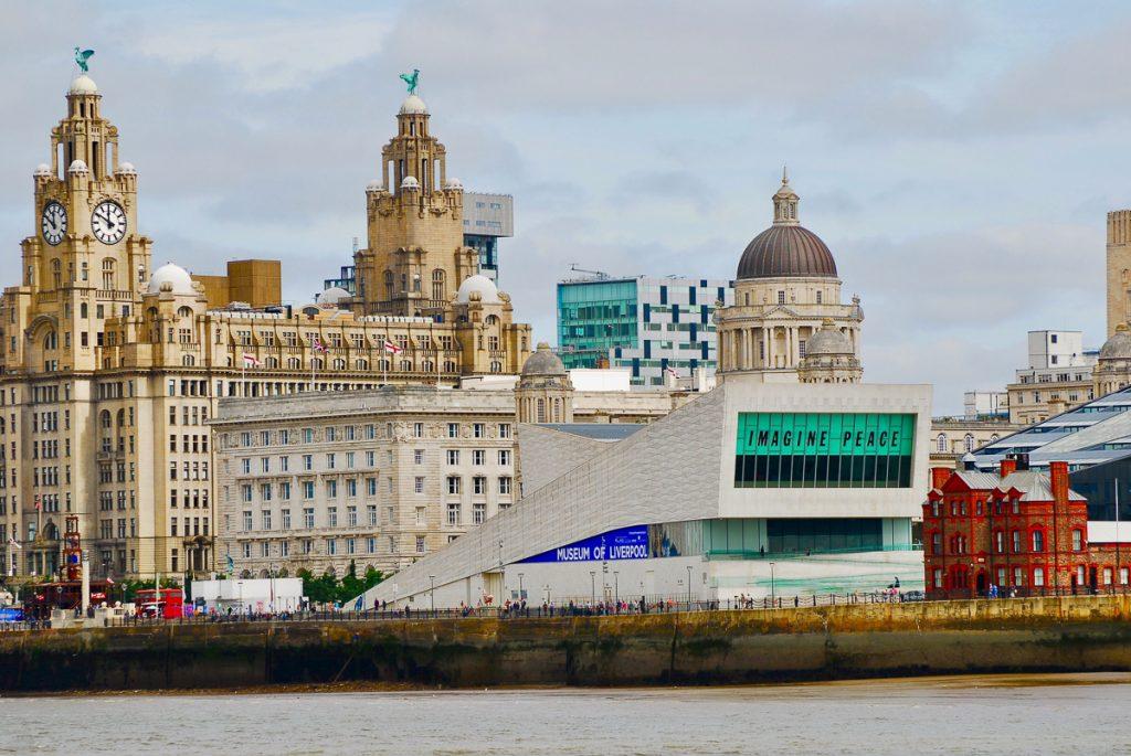 Liverpool centrum met haar mooie gebouwen