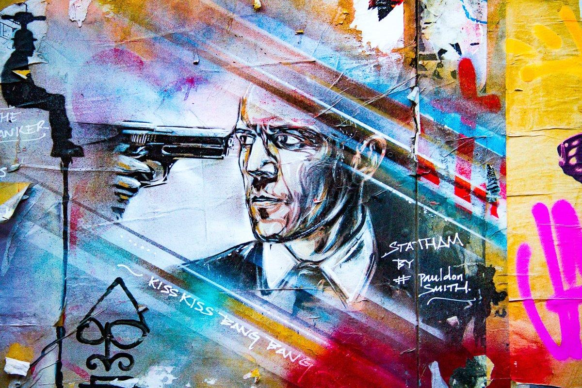 Street art in Shoreditch Londen