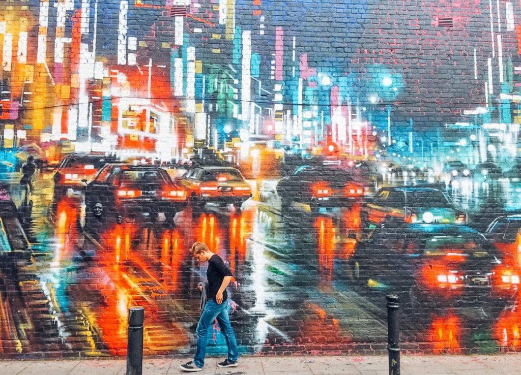 Street art in Oost-Londen