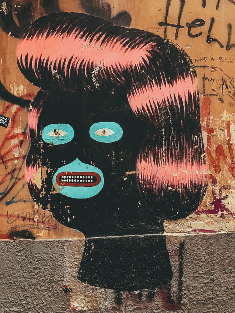 Street art in Napels
