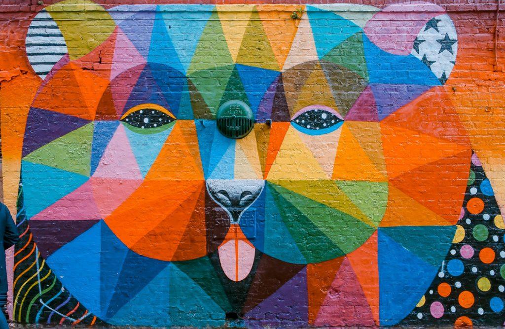 Graffiti in Londen