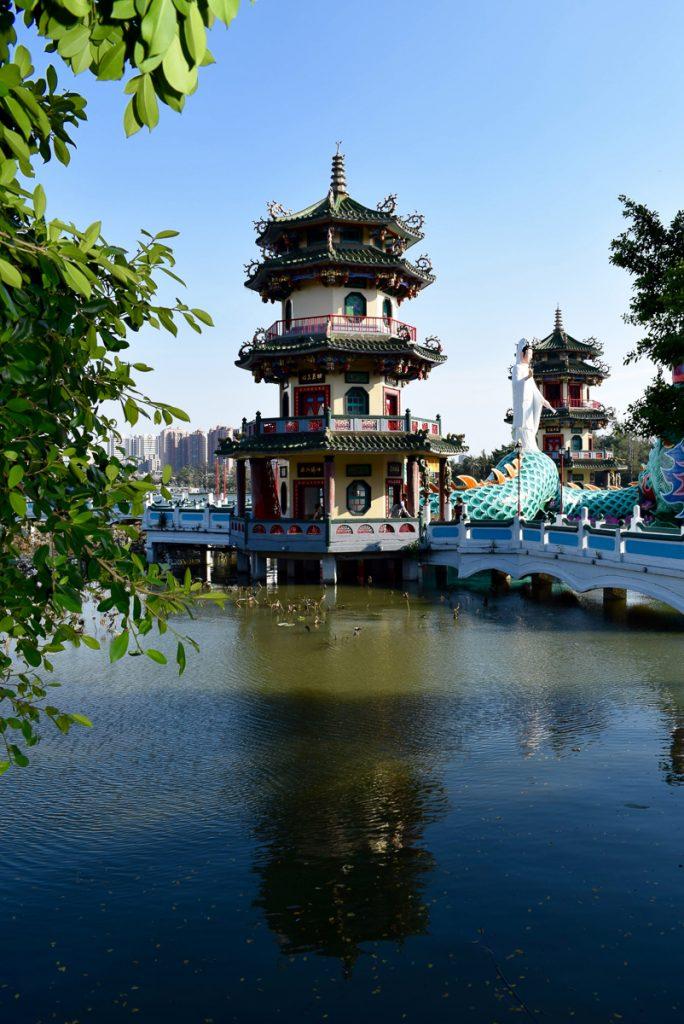 Tijdens een reis naar Taiwan kom je veel tempels tegen