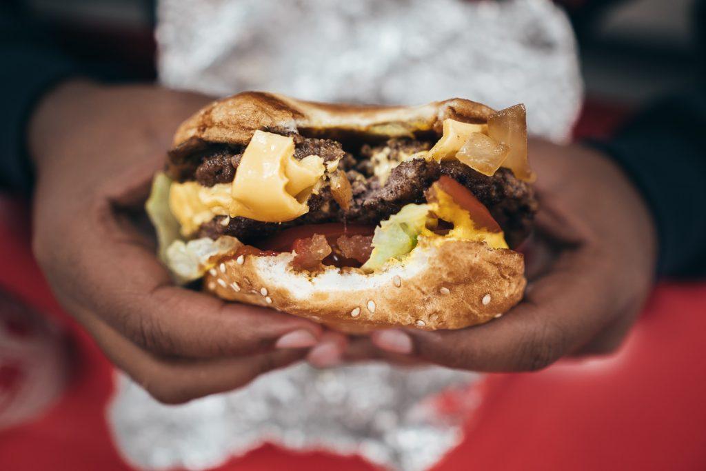 Hamburgers zijn typisch Amerikaans