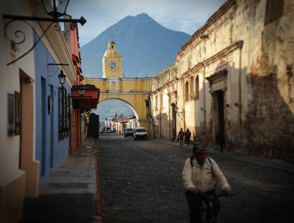 Arco de Santa Catalina, de iconische boog van Antigua in Guatemala
