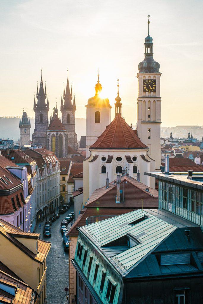 Het historische centrum van Praag