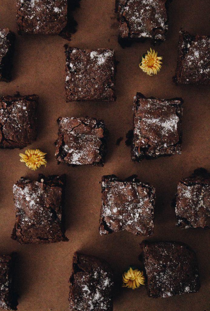 Brownies van het chocolademuseum