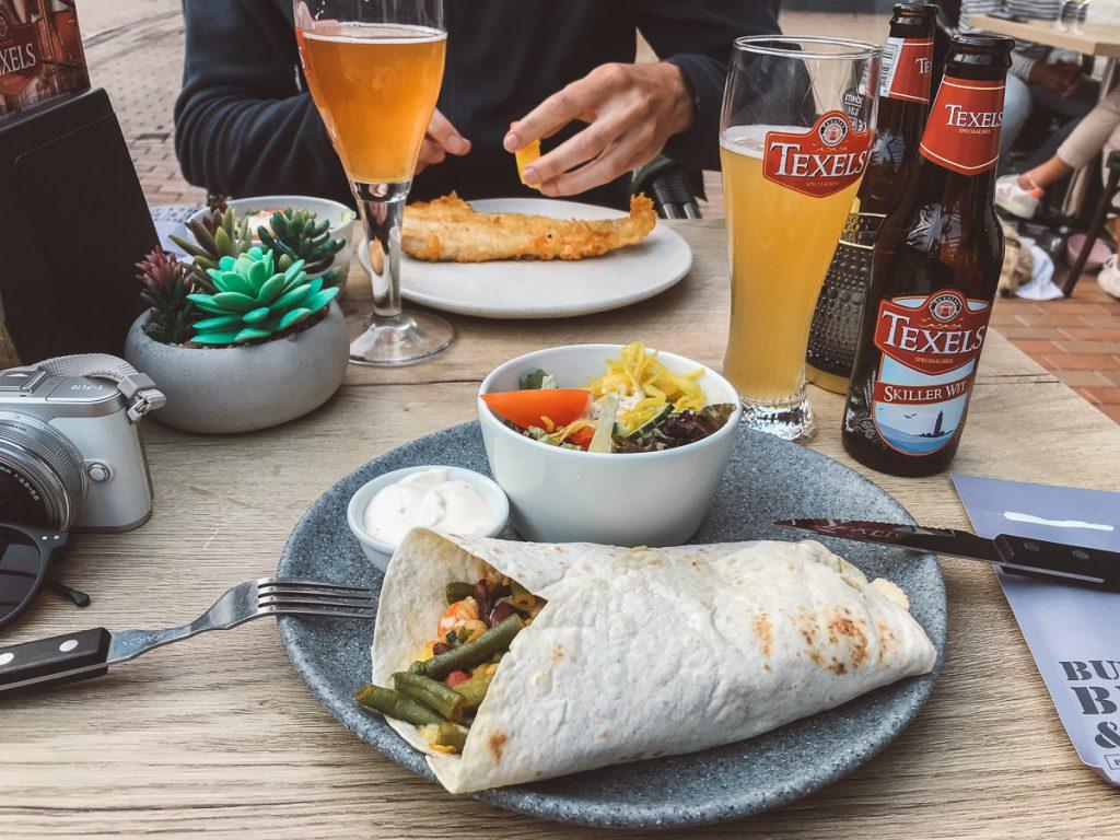 Burrito met groenten