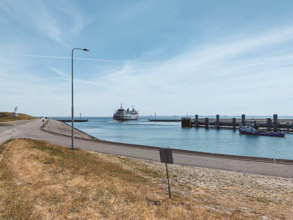 Ferry van Texel naar Den Helder