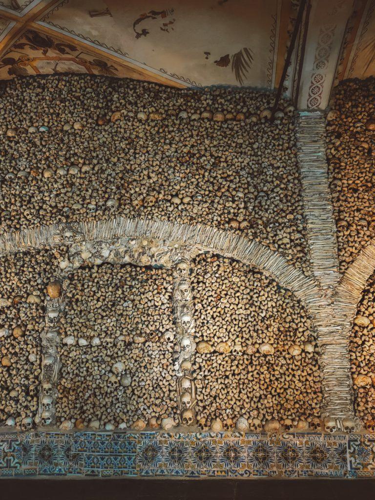 Duizenden schedels en botten