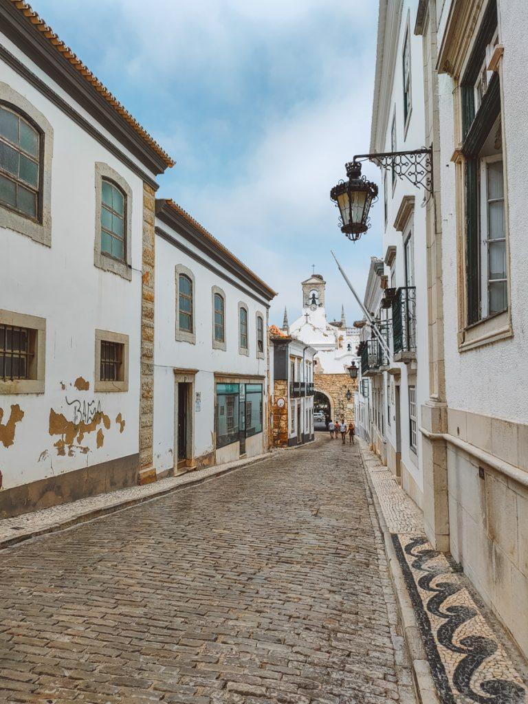 Oude centrum van Faro