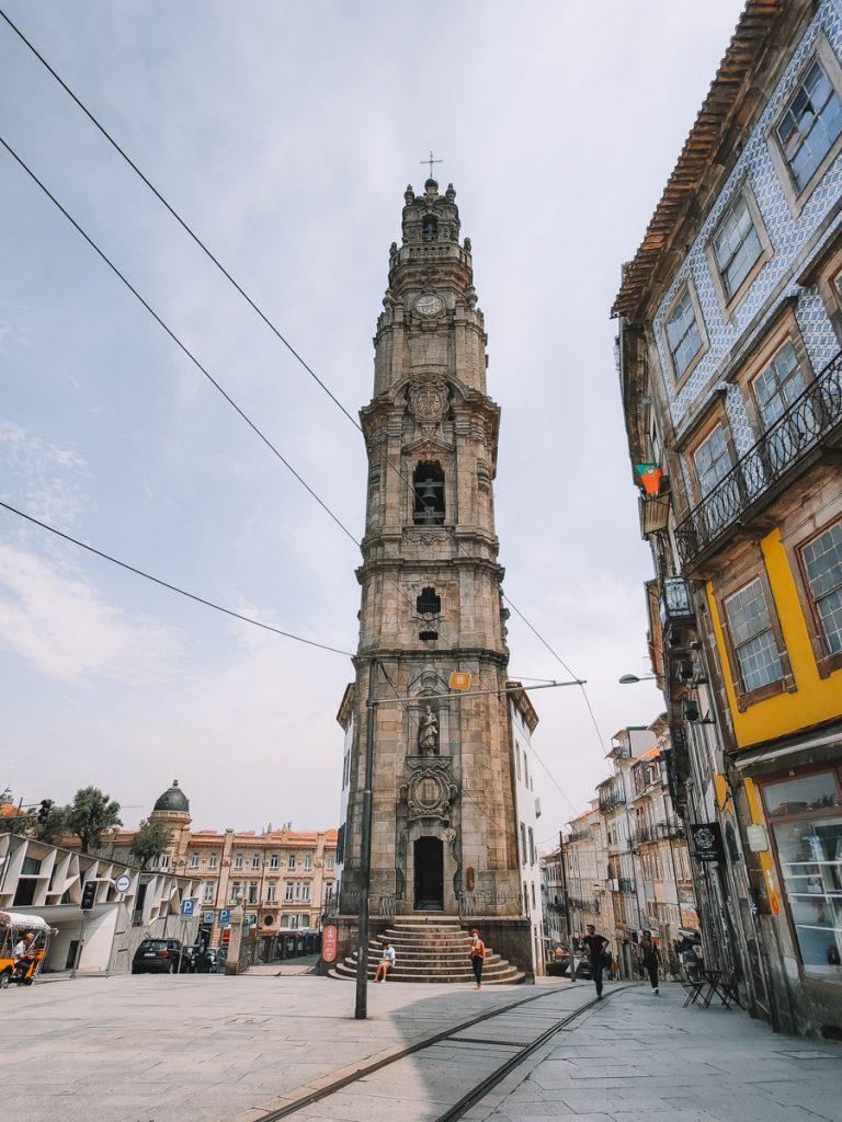 De toren van Porto