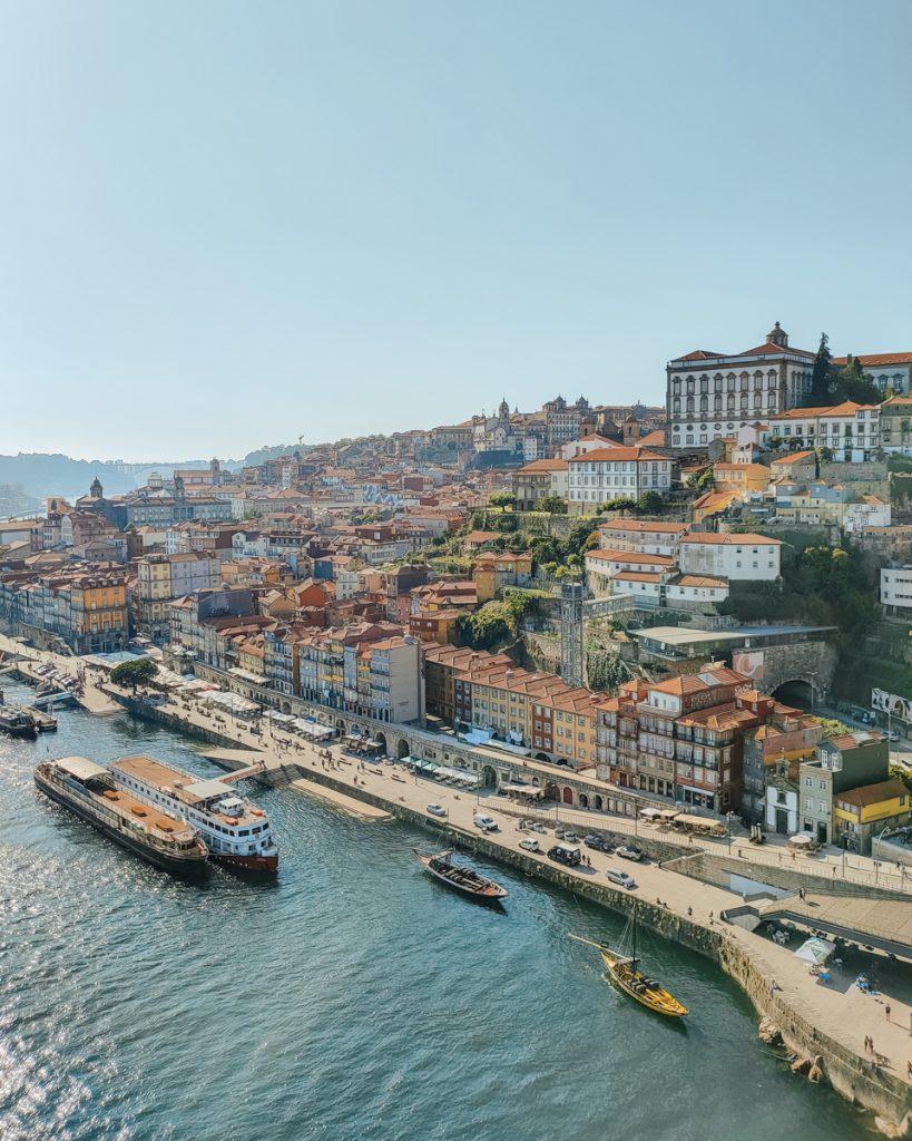 De Douro rivier in Porto