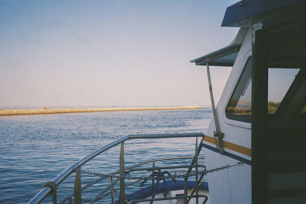 Op de boot, onderweg naar Ria Formosa