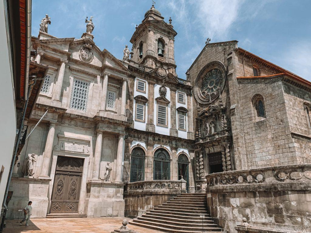 De Sao Francisco kerk in Porto
