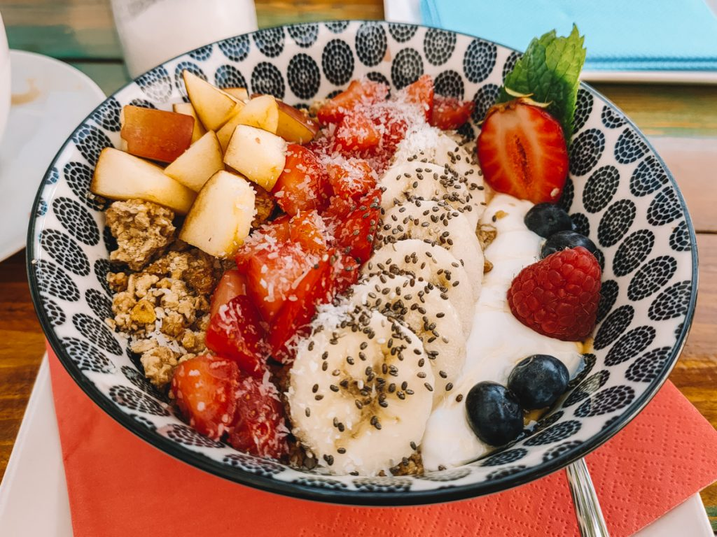 Smoothie bowl bij Goij Lounge Café