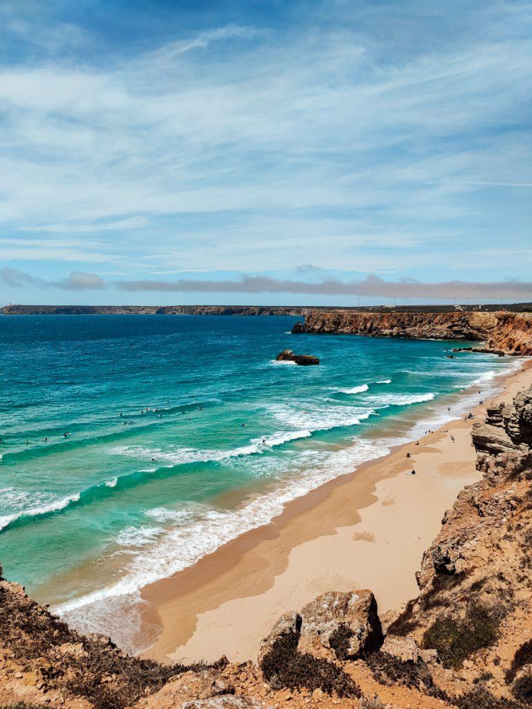 Een van de mooiste stranden in de Algarve
