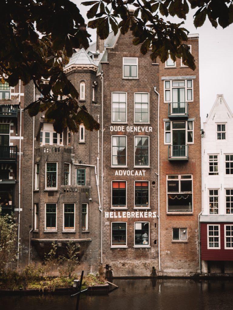 Oude gebouwen in Delfshaven