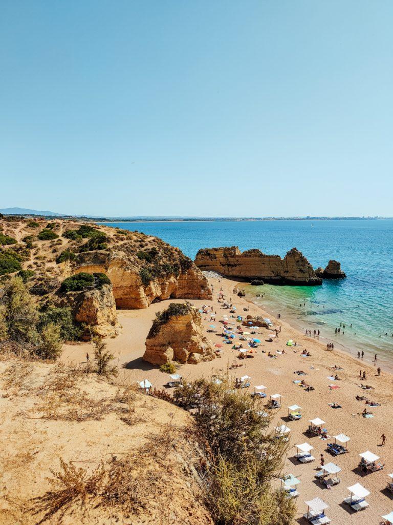 Een van de mooiste stranden van de Algarve
