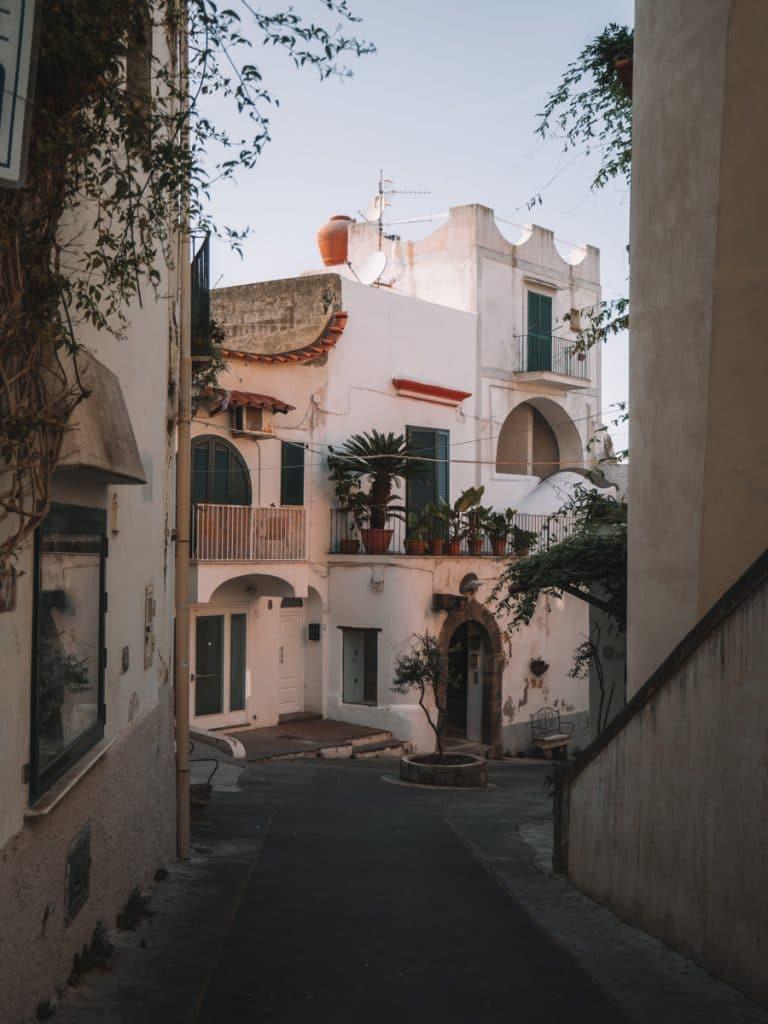 Prachtig straatje in Italië