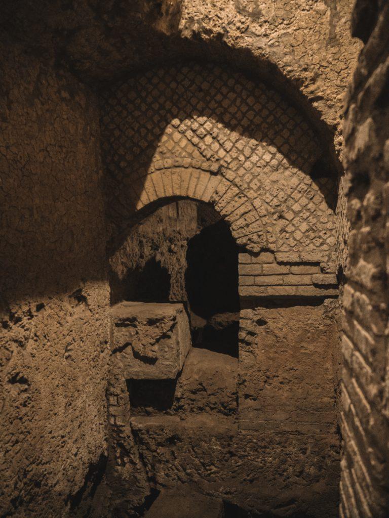 Ondergrondse tour in Napels