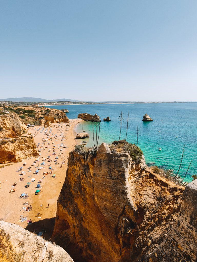 Praia de Dona Ana wordt vaak bestempeld als een van de mooiste plekken van de Algarve