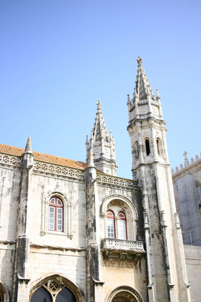 Het klooster in Belém