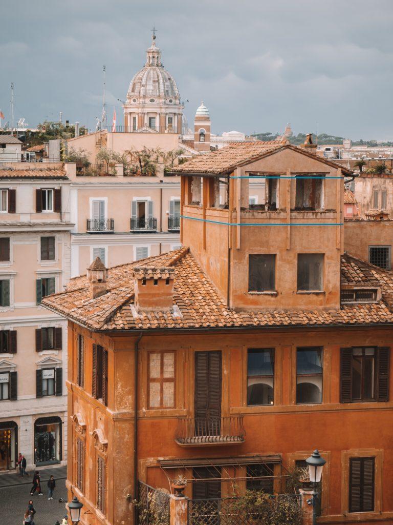 Wat te doen in Rome: de kleurrijke huizen bewonderen!