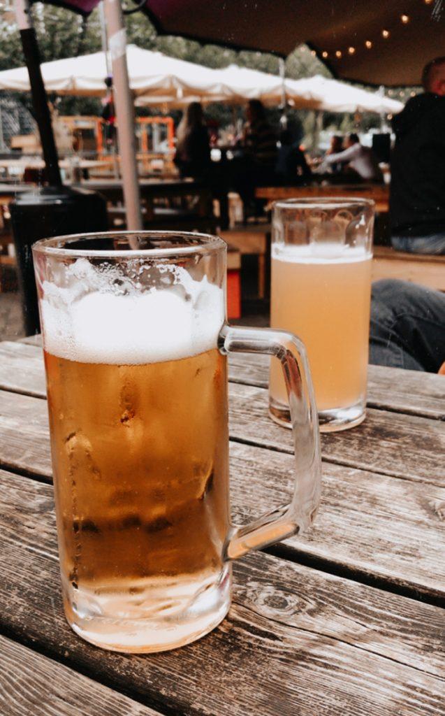 De Biergarten is een van de leukste plekken om te borrelen in Rotterdam